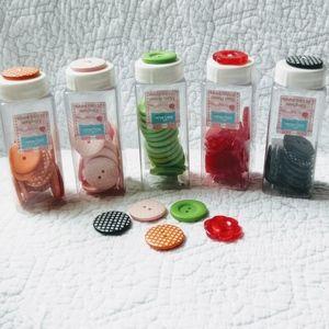 """Button 'Jars' Bundle - 86x 1"""" Buttons"""